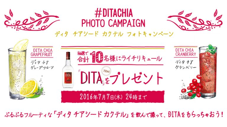 #DITACHIA Instagramキャンペーン